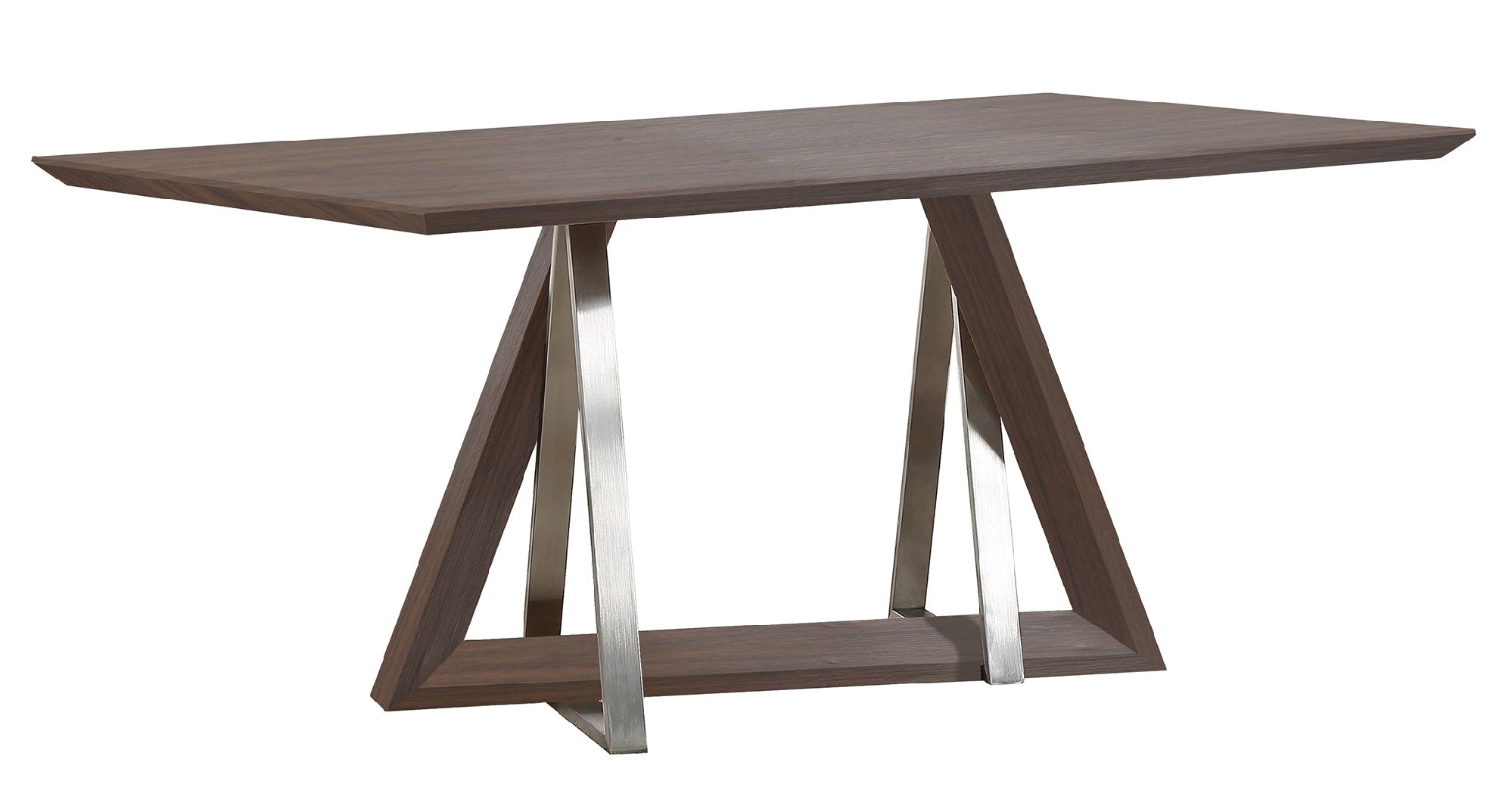 Drake Rectangular Dining Table in Walnut