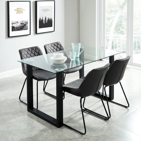 Andy Dining Table - Black