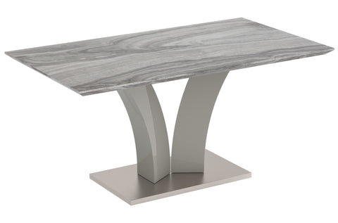 Napoli Rectangular Dining Table - Grey