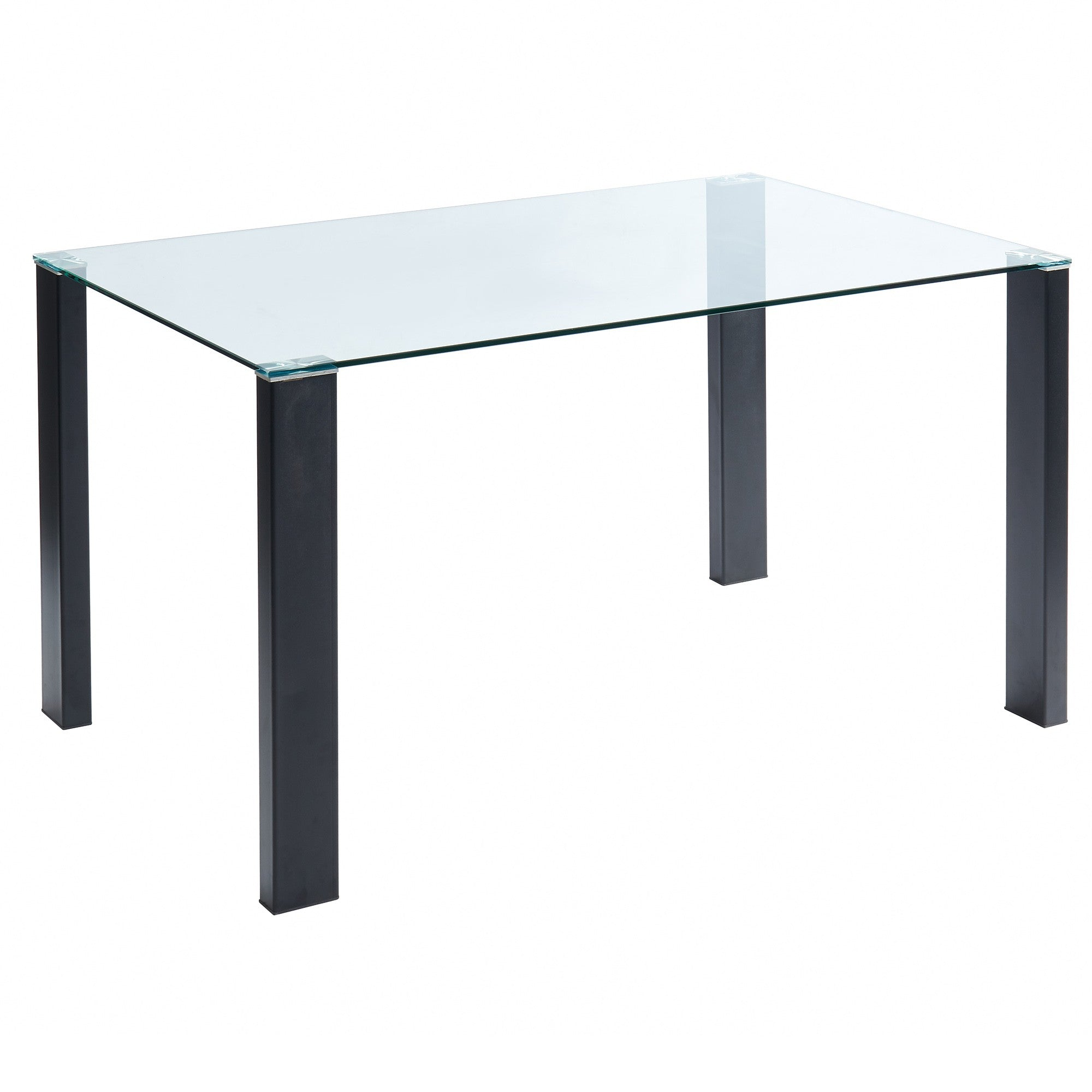 Vespa Rectangular Dining Table - Black