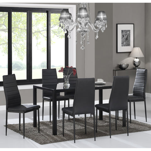 Contra Rectangular Dining Table
