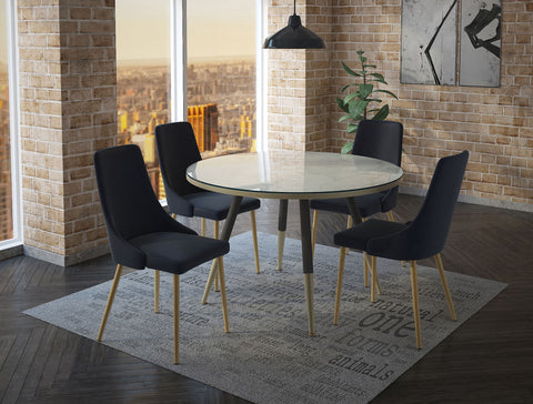 #SALE! Carmilla Dining Chair - Black