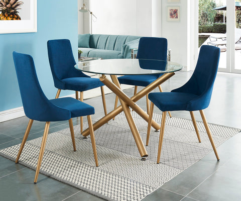 #SALE! Carmilla Dining Chair - Blue