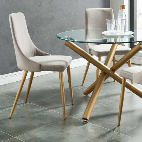 #SALE! Carmilla Dining Chair - Grey