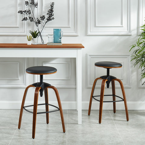 Febo Black Adjustable Stool