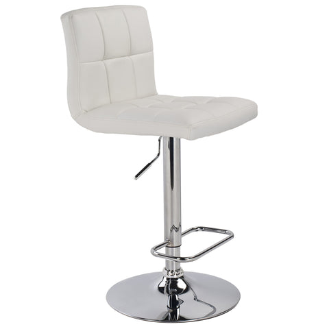 Max Air Lift Stool - White