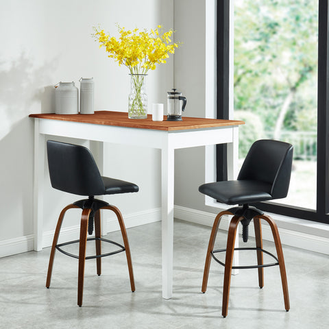 Milo Adjustable Stool - Black