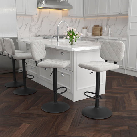 Aiko Air Lift Stool - Grey