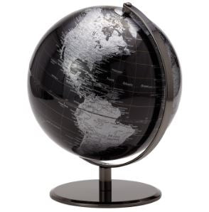 Latitude World Globe - Black