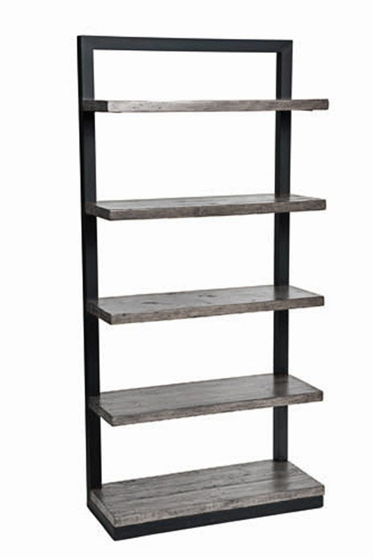 New York Bookcase - Ash Grey