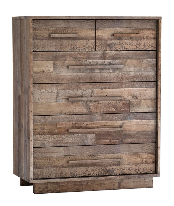 Nevada 5 Drawer Chest - Dark Driftwood