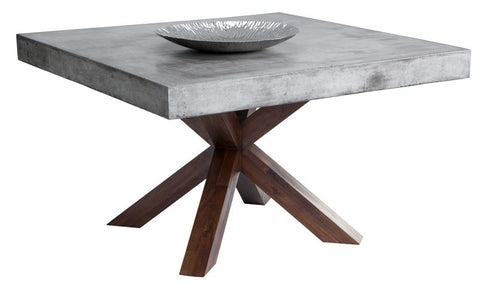 Warwick Concrete Square Dining Table