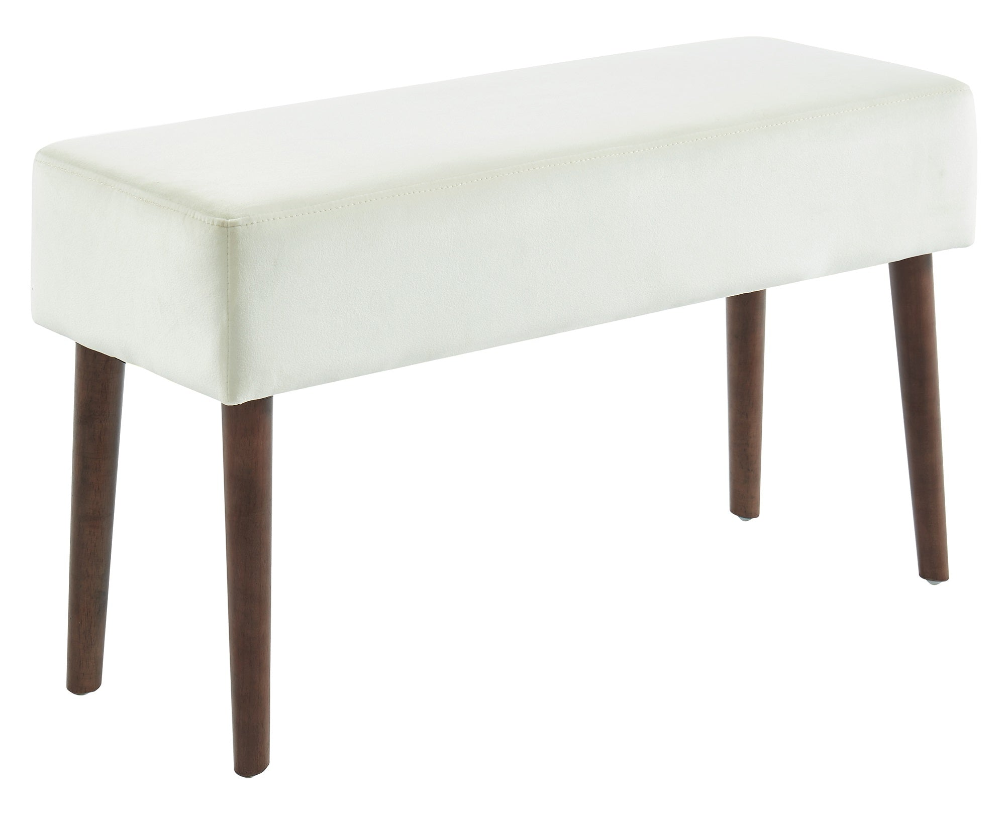 Gwen Bench in Ivory
