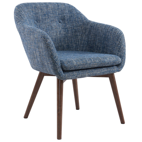 Minto Accent / Dining Chair - Blue Blend