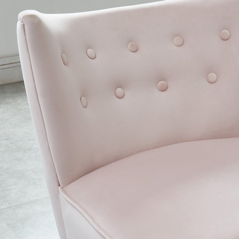 #SALE! Elle Accent Chair - Blush Pink