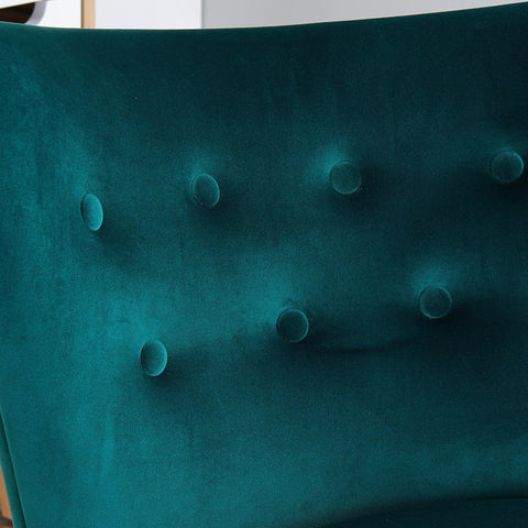#SALE! Elle Accent Chair - Green