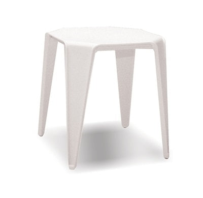 Yatta End Table - White