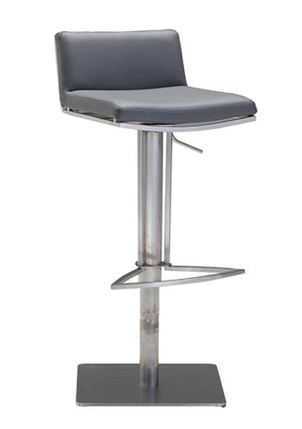 Bond Hydraulic Bar Stool - Grey
