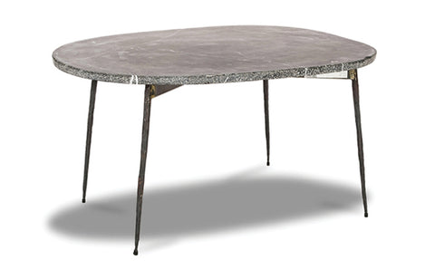 Tuk Tuk Small Marble Coffee Table - Black