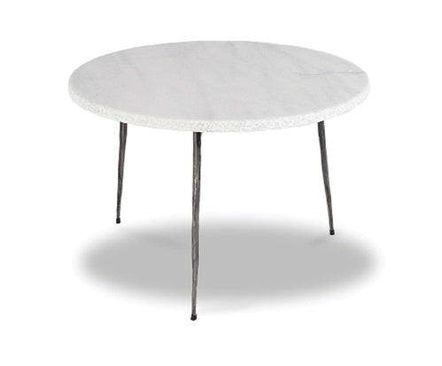 Kaii Low End Marble Table - White