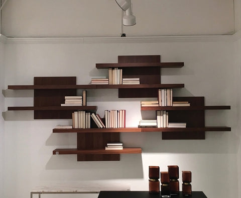 Wall Unit Cargo Shelf - Walnut