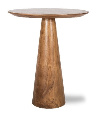 Natural Walnut Tower End Table - Large