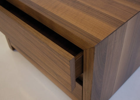 Blanche Night Table - Natural Walnut