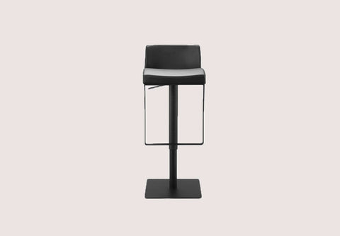 Astro Hydraulic Bar Stool - Black