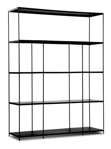 Etta Black Wall Rack - Wide