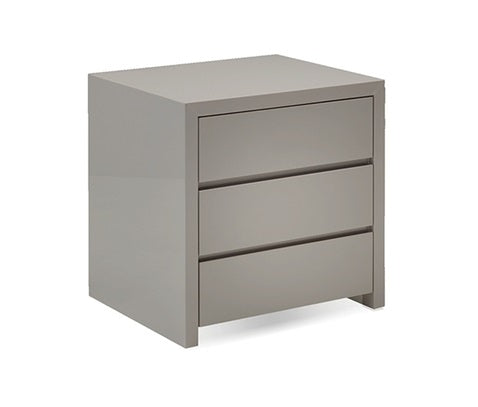 Blanche Stone 3 Drawer Night Table