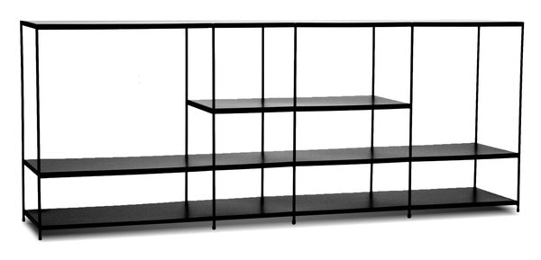 Etta Black Shelf - Large