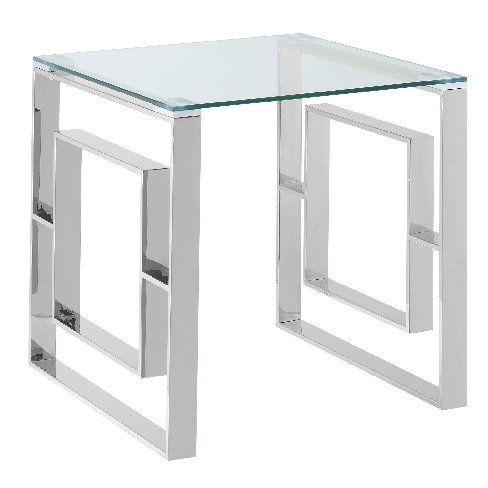Eros Chrome Accent Table