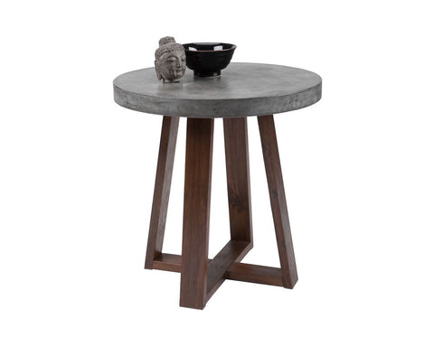 Devons Concrete Top End Table