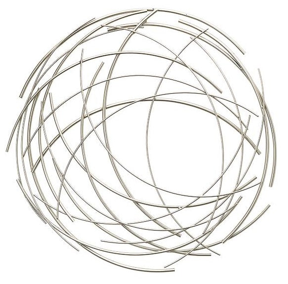 Halo Arc Round Metal Wall Decor - Small