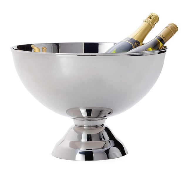 Landon Stainless Steel Punch Bowl Wine Chiller - Large