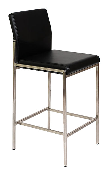 Angle Counter Stool - Black