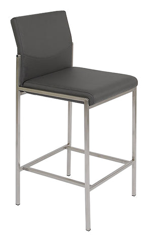 Angle Bar Stool - Grey