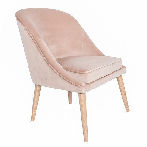#SALE! Bree Chair – Pale Coral