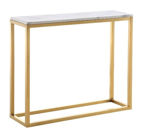 Boca Console Table  - Gold Base