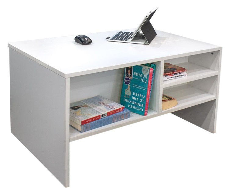 Cabot Lift Top Coffee Table - White