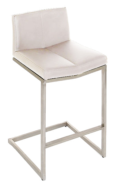 Cee Bar Stool - White