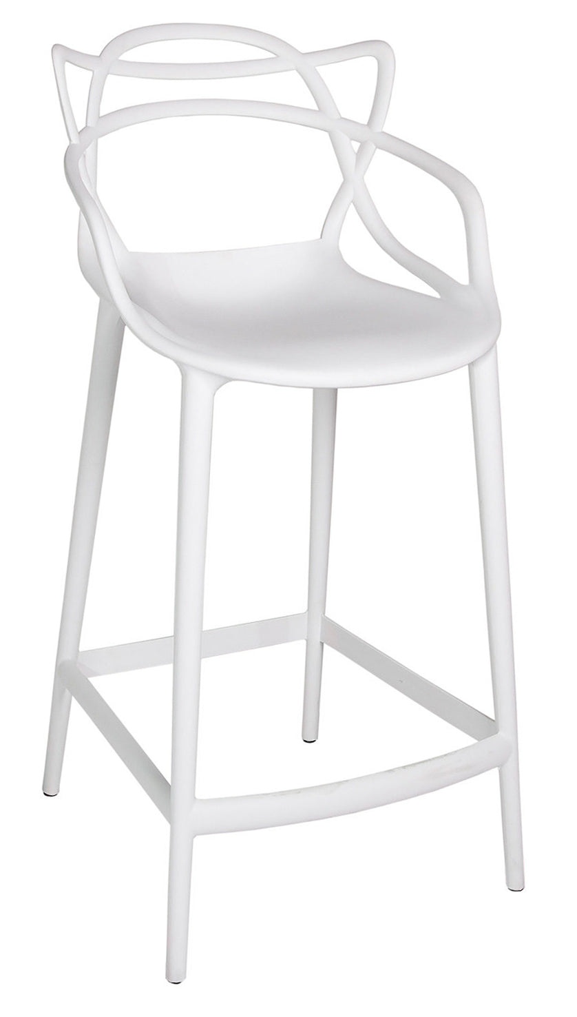 Crane Counter Stool – White