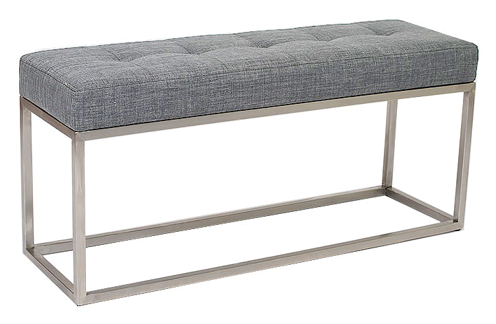 Emily Bench - Light Grey