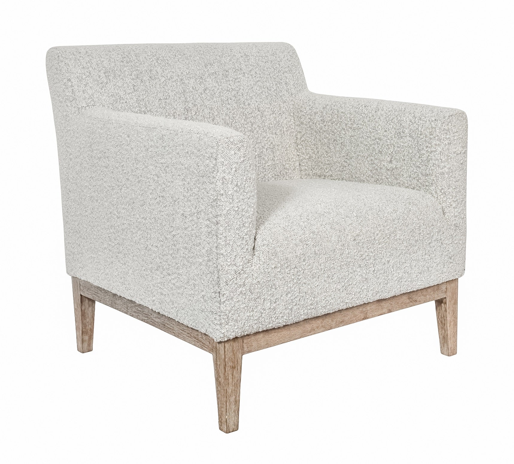 Ezra Chair - Grey Boucle