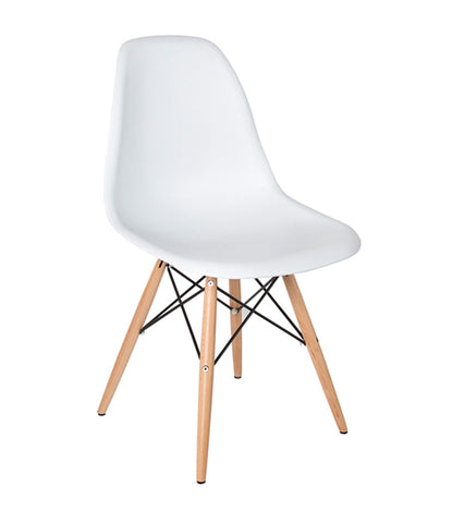 #SALE! Eiffel Chair with Wood Base