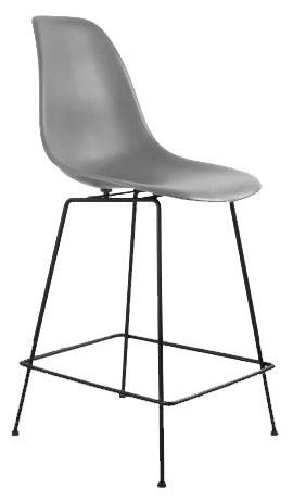 Eiffel Bar Stool with Square Metal Base
