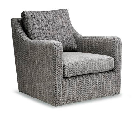Groove Swivel Chair - Custom Made