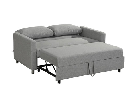 Inca Double Sofa Bed - Light Grey