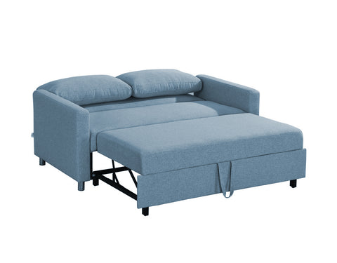Inca Double Sofa Bed - Blue