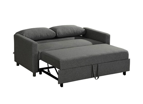 Inca Double Sofa Bed - Dark Grey